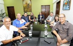 Prefeito Alexandre Kalil recebe visita da Mesa Diretora da Câmara