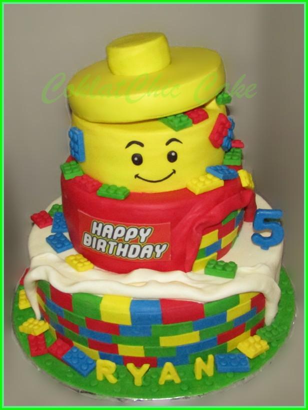 Cake Lego RYAN 30/22/15