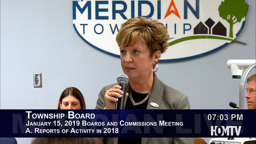 Joint Township Board Commission Meeting Recaps 2018 Projects