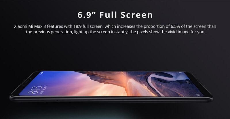 Xiaomi Mi Max 3 特徴 (4)