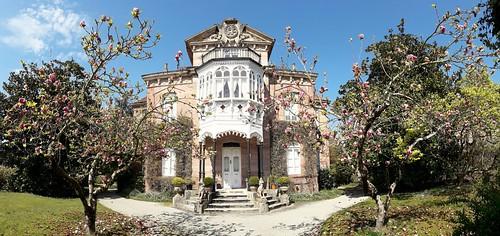 La casa de Las Magnolias. Mazcuerras.