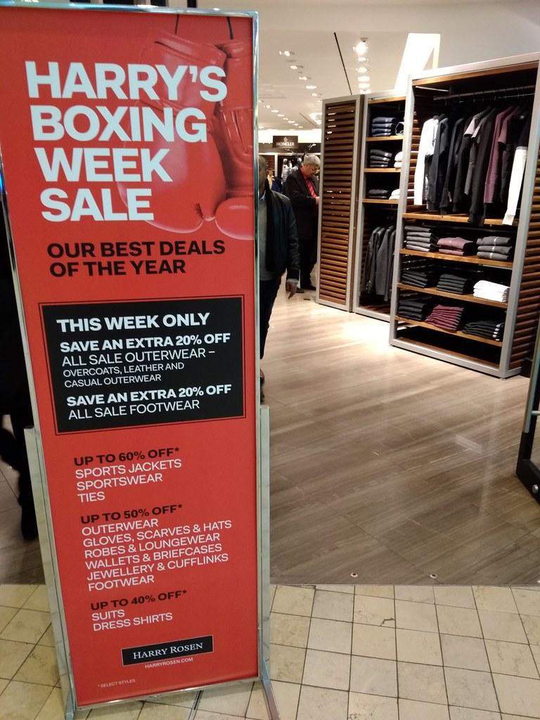 Harry's Boxing Week Sale
