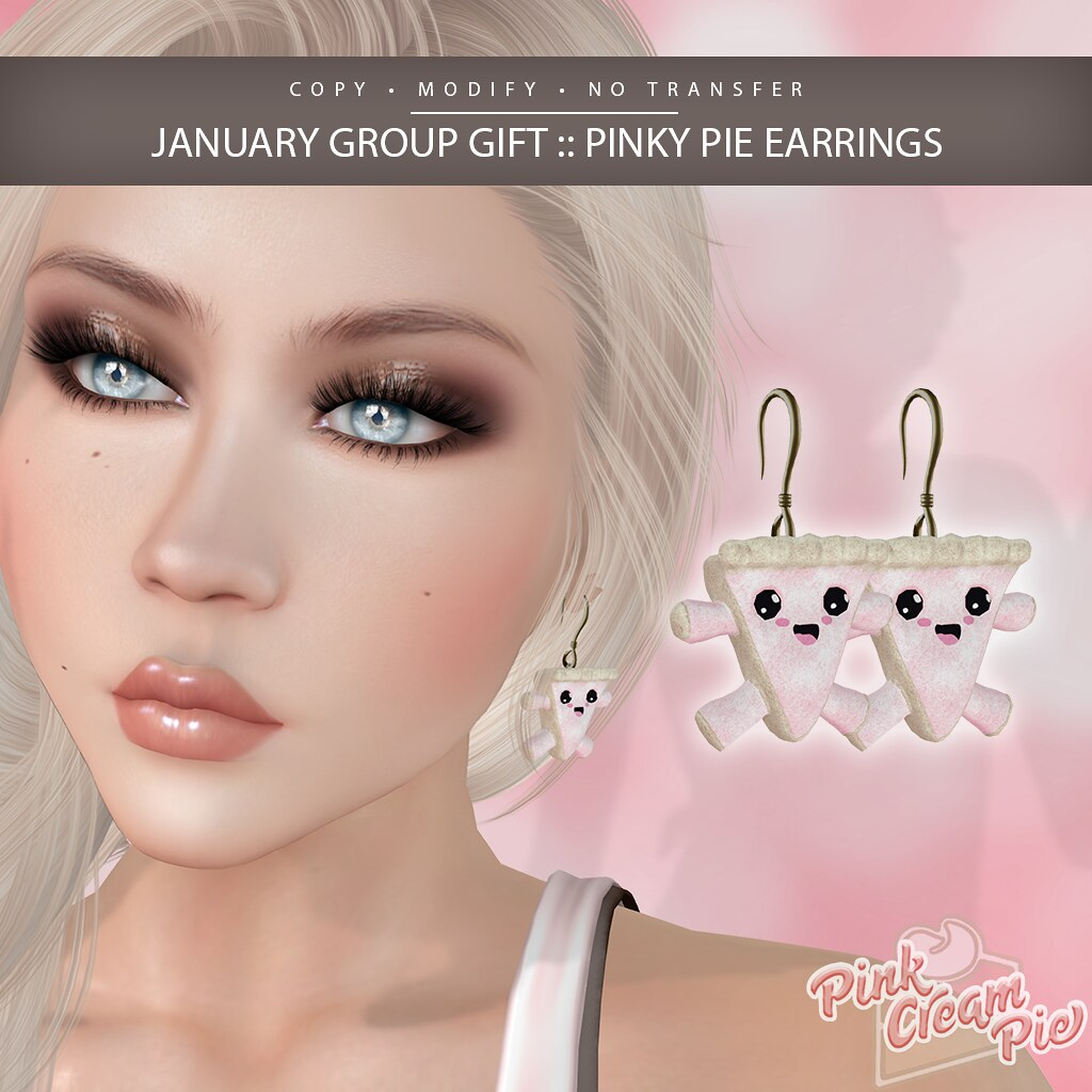 January Group Gift :: Pink Cream Pie
