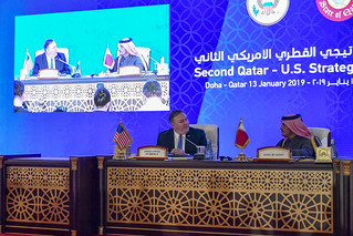 U.S.-Qatar Strategic Dialogue in Doha, Qatar