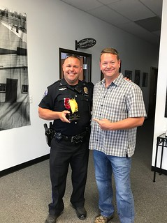 SPD Officer Howery Wins Taco Eating Contest