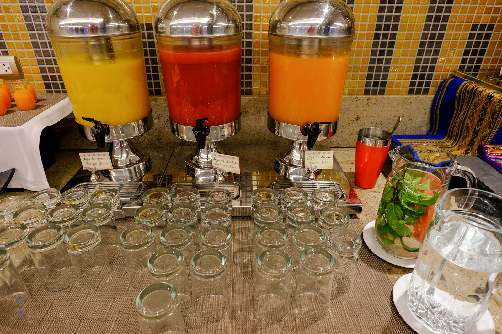 Juice and infused water