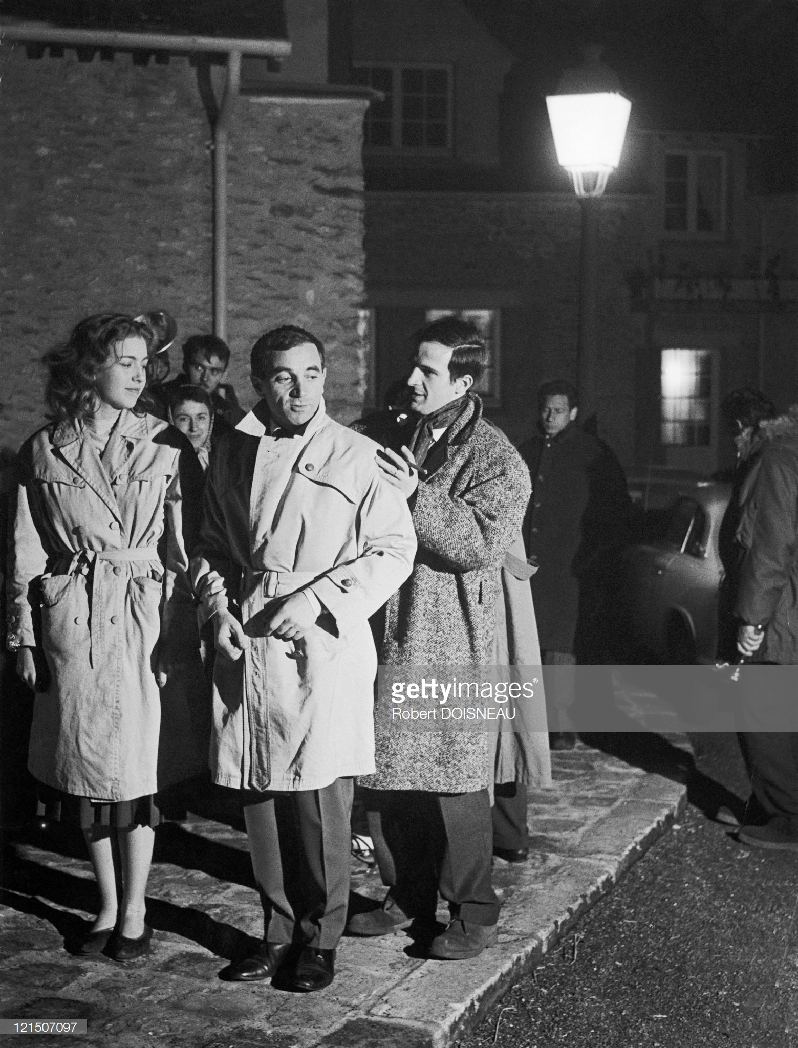 1960. Франсуа Трюффо, Шарль Азнавур и Мари Дюбуа