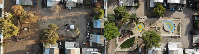 Plaza El Corazón de la Villa   Quilicura   Fundación San Carlos de Maipo