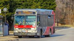 WMATA Metrobus 2012 Orion VII 3G BRT Diesel #3042
