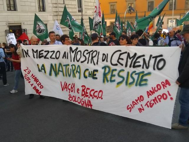 Roma, #23m per il clima