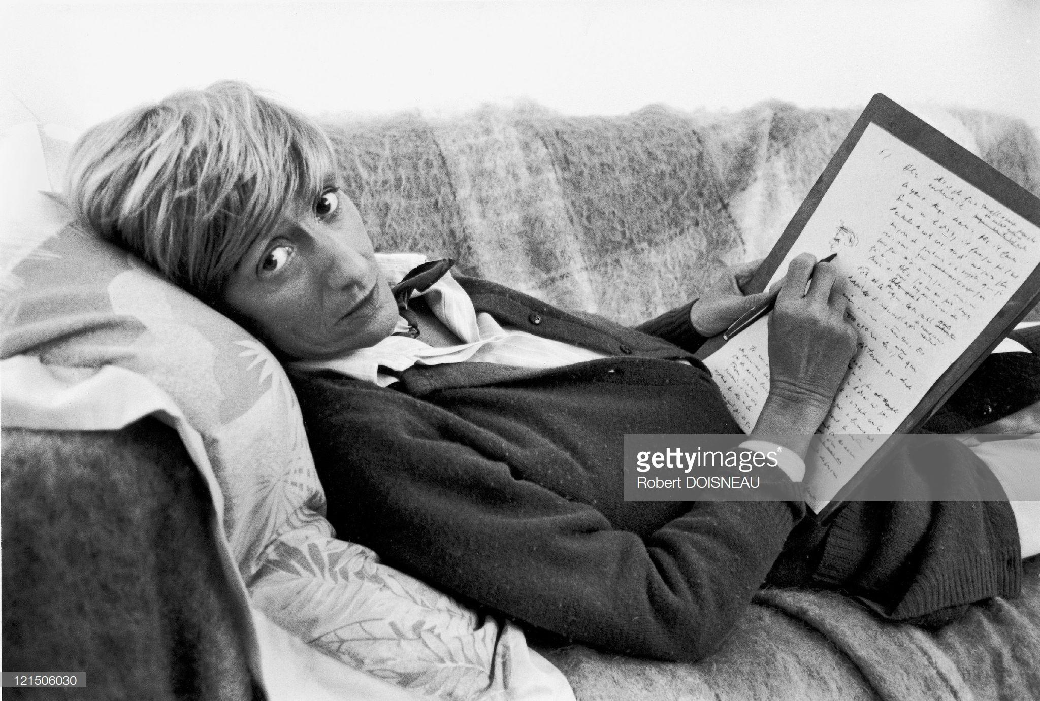 1985. Франсуаза Саган — французская писательница, драматург, в 1985 году удостоена премии князя Монако за вклад в литературу