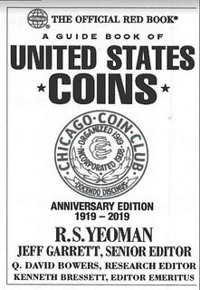 Chicago Coin Club anniversary Redbook