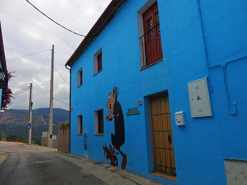 <Casa del Bandolero> Júzcar (Málaga)