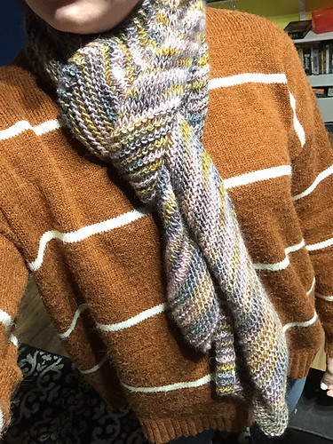 Christina's Blue Bell Hill Scarf by Jocelyn Tunney