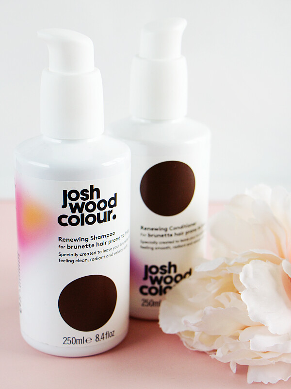 Josh Wood Colour Renewing Shampoo Conditioner Brunette Hair