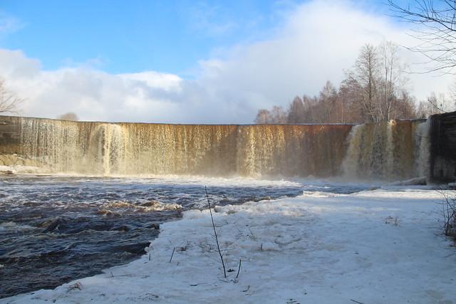 Jägala juga / Jägala waterfall in Estonia