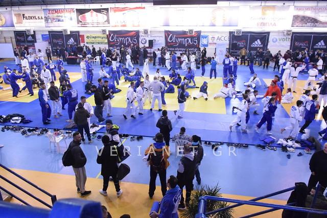 Βέροια: Πανελλήνιο Πρωτάθλημα Τζούντο 22-23/12/2018