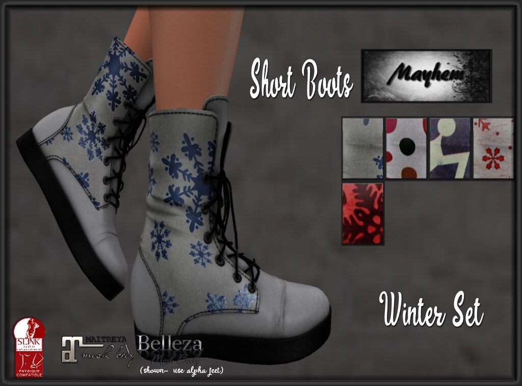 Mayhem Short Boots Winter Set - TeleportHub.com Live!
