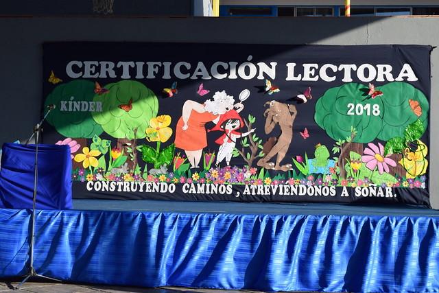 Certificación Lectora - Kinder - 2018