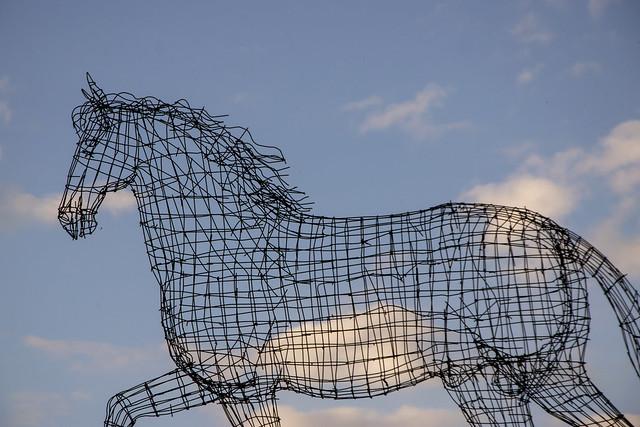Metal Horse,  Paracuellos, Nikon D3300, AF-S DX VR Zoom-Nikkor 18-105mm f/3.5-5.6G ED