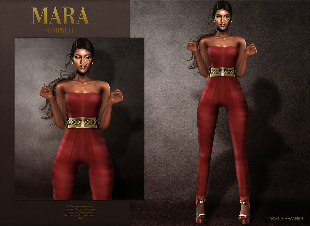 David Heather - Mara Jumpsuit @ equal10 - TeleportHub.com Live!