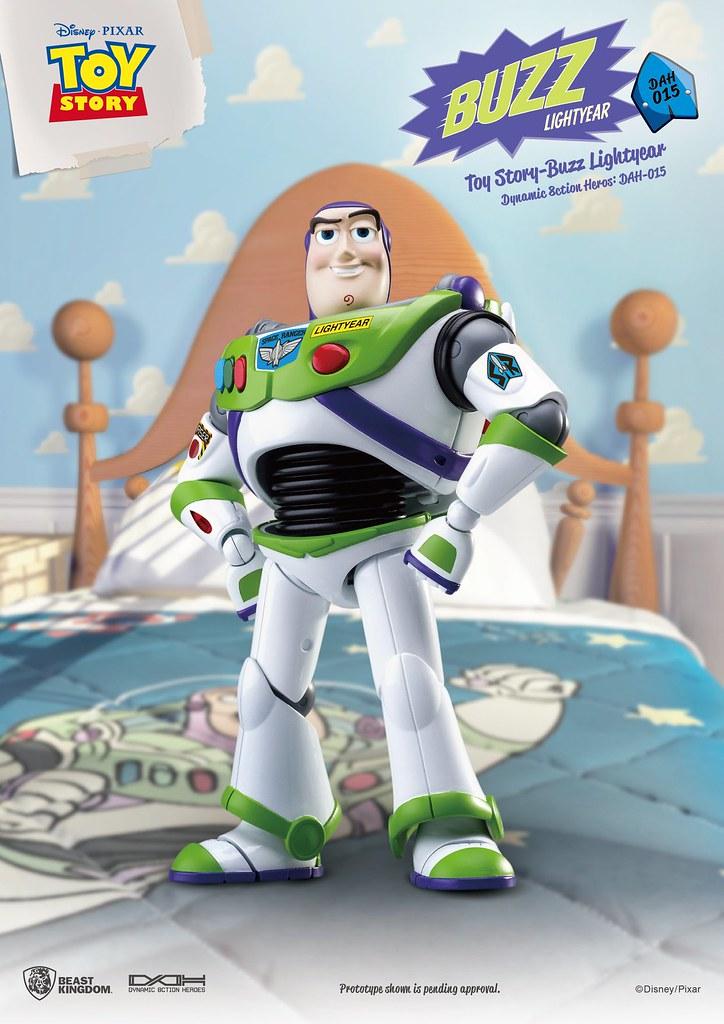 帥氣瀟灑的太空騎警來啦~ 野獸國 究極英雄系列《玩具總動員》巴斯光年 Toy Story Buzz Lightyear DAH-015