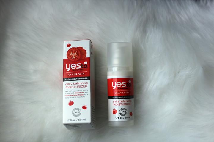 Gezichtsverzorging met Yes to tomatoes