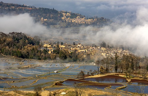 *Qingkou @ a village in Yuanyang County*