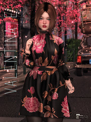 NEW! Valentina E. Rosa Dress @ Belle!
