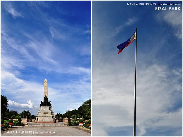 Rizal Park in Manila, Philippines