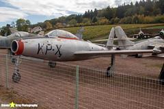9978---KP-X---52-3057---Danish-Air-Force---Republic-F-84G-Thunderjet---Savigny-les-Beaune---181011---Steven-Gray---IMG_5738-watermarked