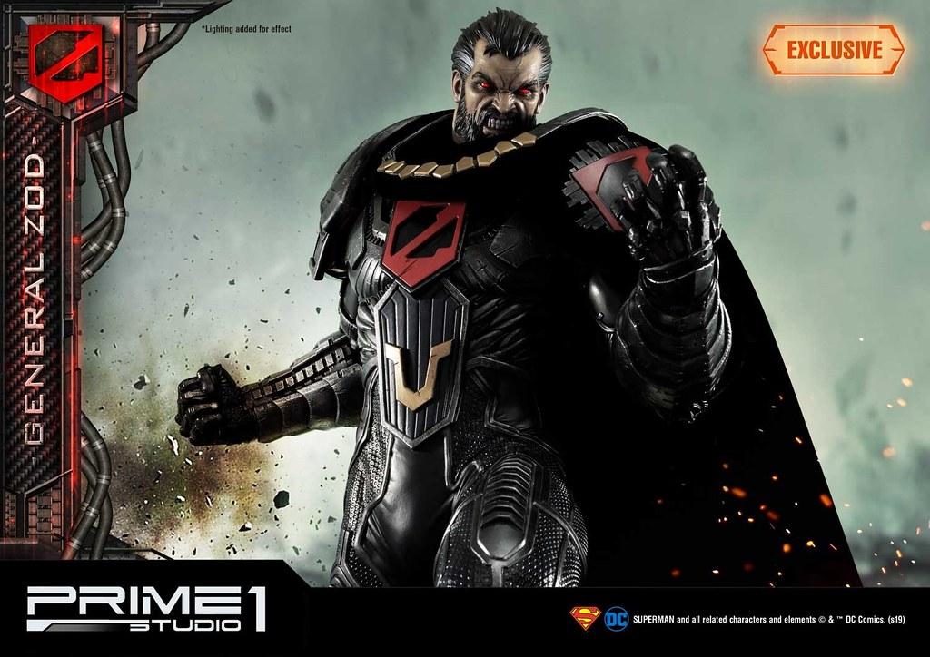 Kneel before Zod!! Prime 1 Studio DC Comics【薩德將軍】ゾッド将軍 MMDC-37 1/3 比例全身雕像作品 普通版/EX版