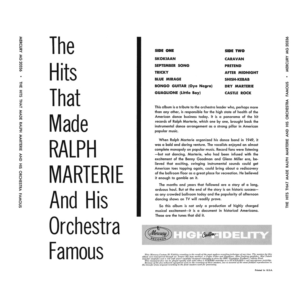 Ralph Marterie - Hits That Made Ralph Marterie Famous