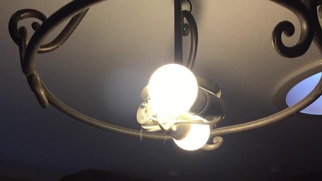 IKEA LED bulb went broken