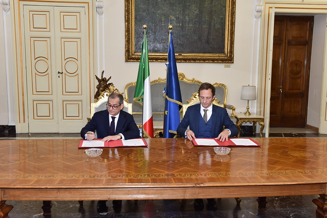 Incontro del Ministro Tria con il Presidente della regione Friuli Venezia Giulia