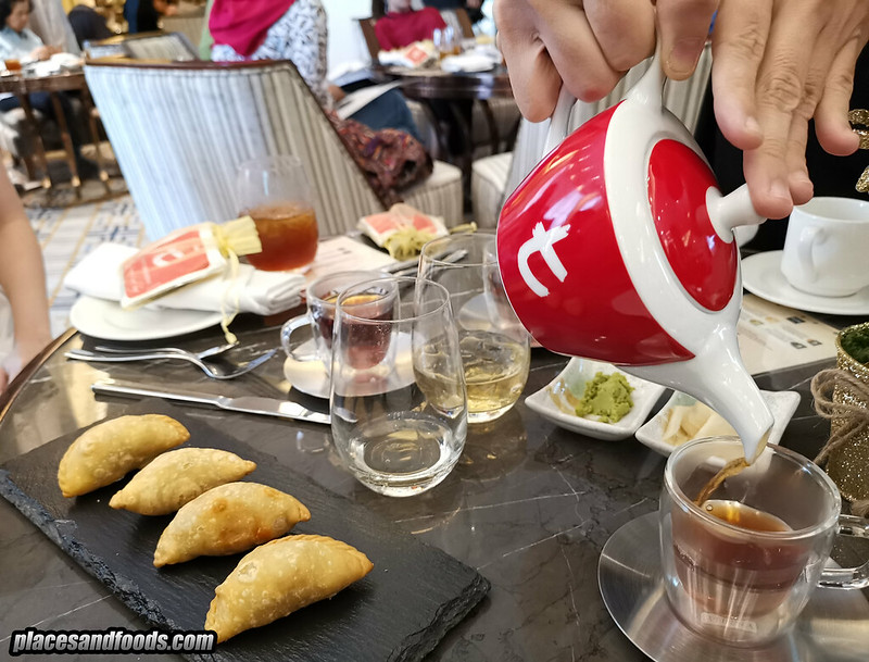 dilmah tea food pairing