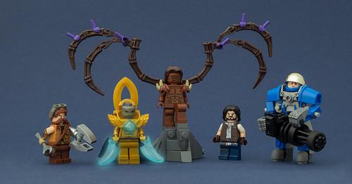 StarCraft II Figures