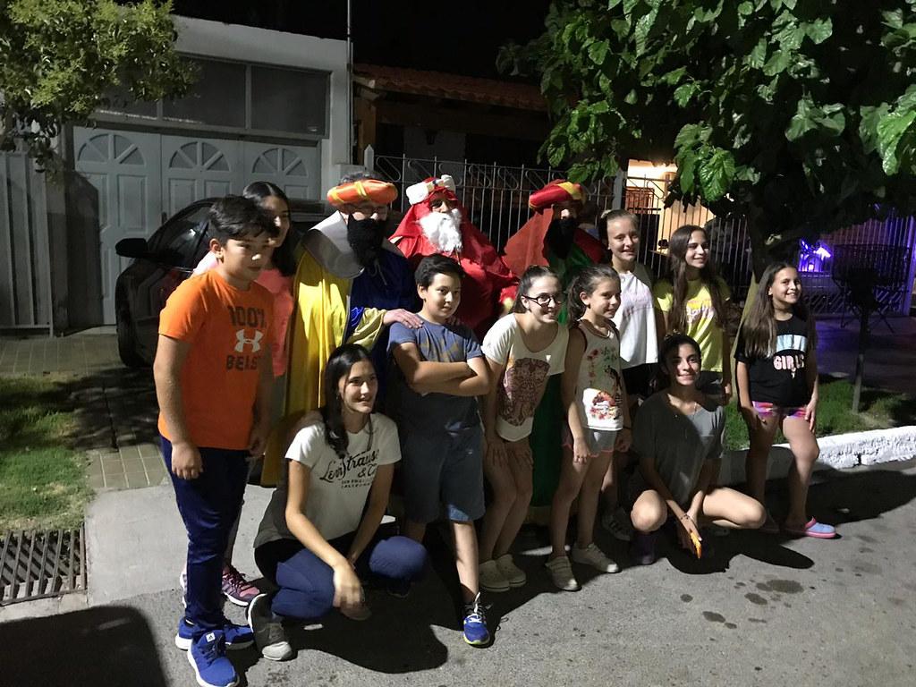 2019-01-06 SALUD: Visita Reyes Magos a Caucete y Angaco