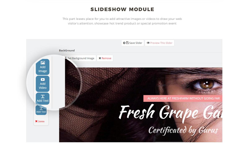 slideshow module - Leo Lipart - Cosmetics and Beauty Prestashop Theme