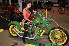 Kim at Toronto Spring Motorcycle Show
