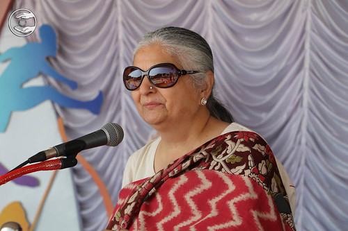 Member Executive Committee SNM, Mohini Ahuja Ji from Hyderabad