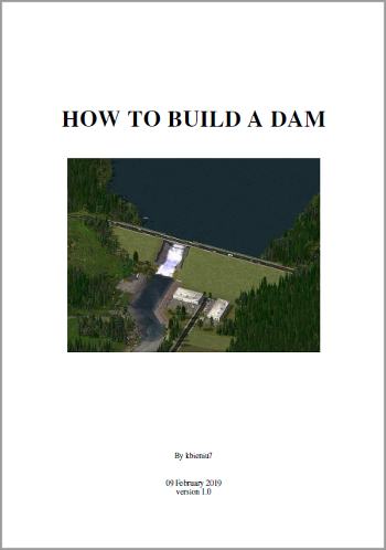 Tutorial: building dams and shaping rivers
