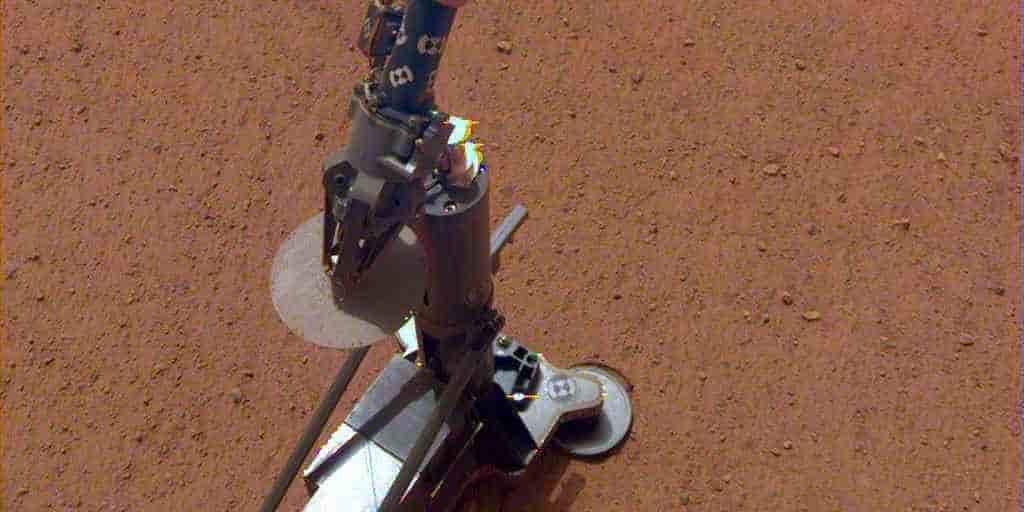 InSight déploie son instrument de creusage sur Mars