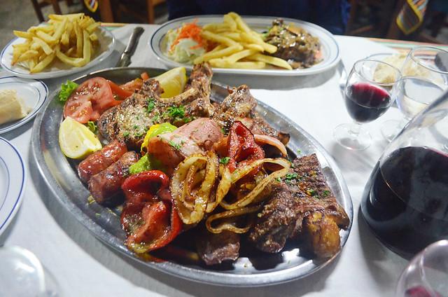 Parrillada de carne, Tenerife