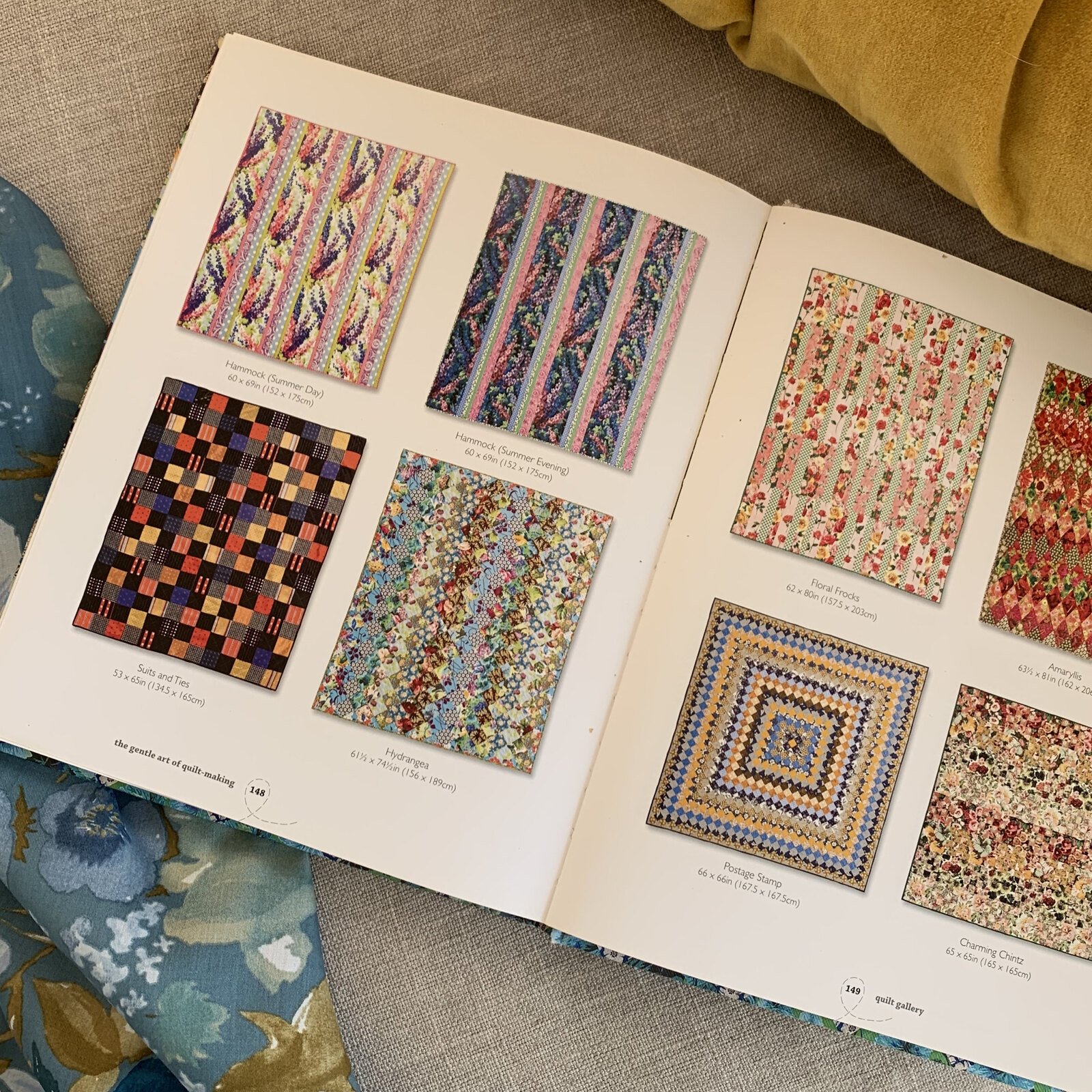 Jane Brocket's Gentle Art of Quilt-Making book