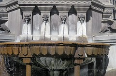 Clermont-Ferrand, details of Urban II fountain - Photo of Clermont-Ferrand