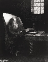 The Reader by Odilon Redon