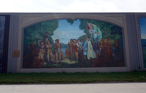 Floodwall Mural, Portsmouth, OH