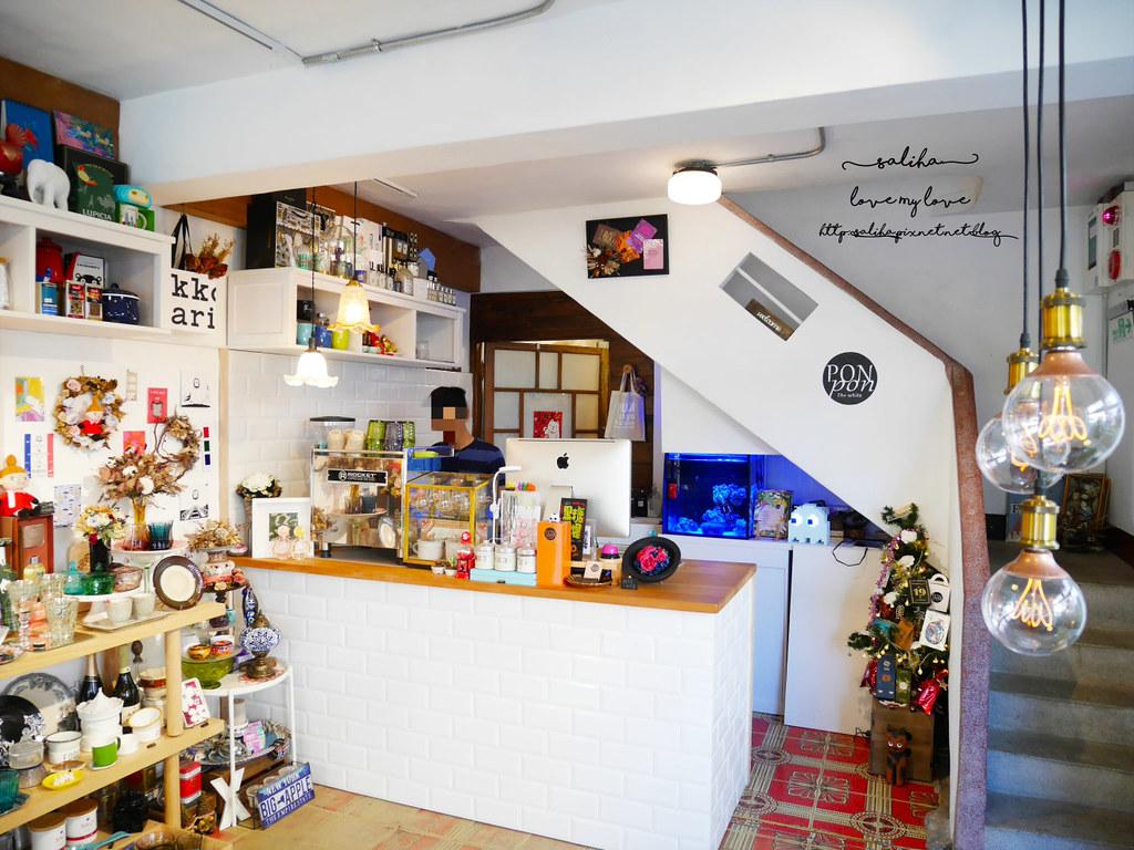 宜蘭礁溪湯圍溝公園附近不限時間餐廳特色咖啡廳下午茶PonPon乓乓雜貨咖啡 (2)