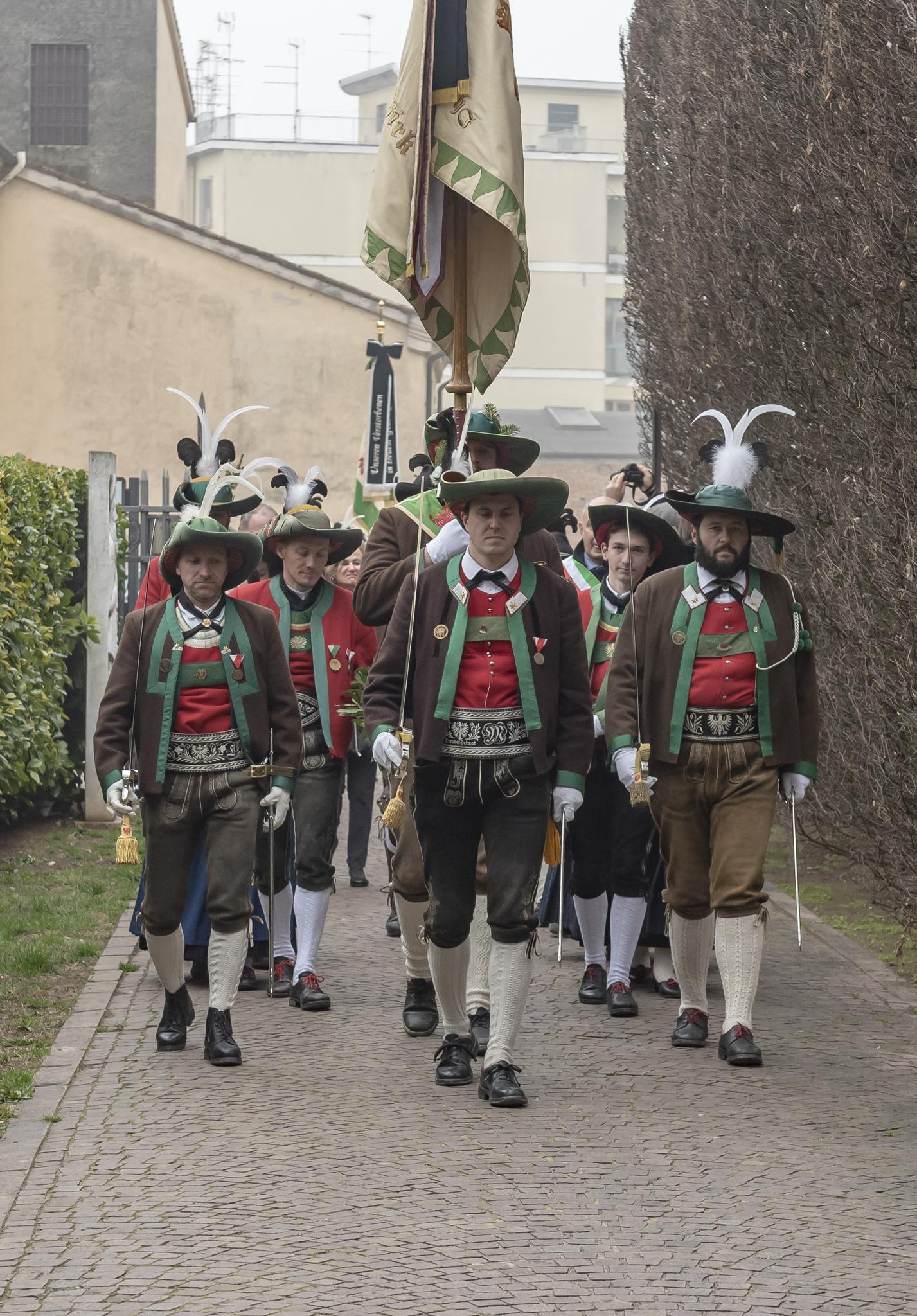 Andreas-Hofer Feier in Mantua 20.02.2019